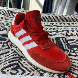 Adidas Iniki Runner Red and White
